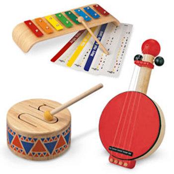 Three-Piece Musical Set