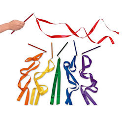 """36"""" Ribbon Wands, Pack of 6"""