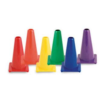Champion® Hi Visibility Flexible Vinyl Cones - Set of 6