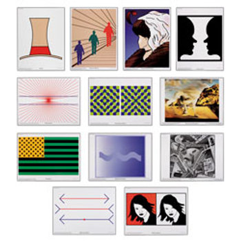 The Art of Illusion Prints - Set of 12 - 16 in. x 12 in.
