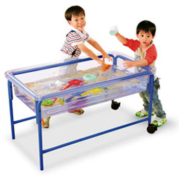 Clear Sand and Water Table