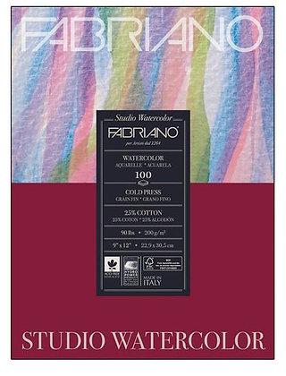 Fabriano® Studio Watercolor Paper - 9 in. x 12 in.
