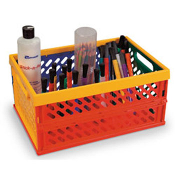 Multi-Color Collapsible Crate