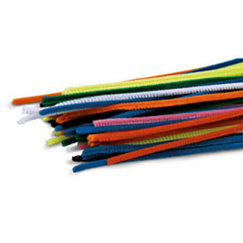 Chenille Stems - Box of 1,000 - 12 in. Long