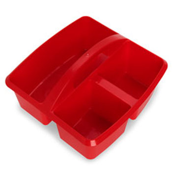 Small Paint and Storage Caddie - Red