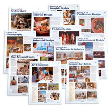 Careers in Art Posters - Set of 12