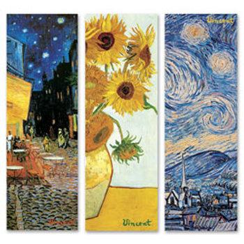 Vincent van Gogh Art Prints - Set of 3 - 36 in. x 12 in.