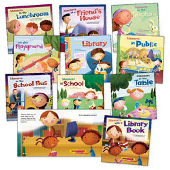 Way to Be! Manners Book Collection