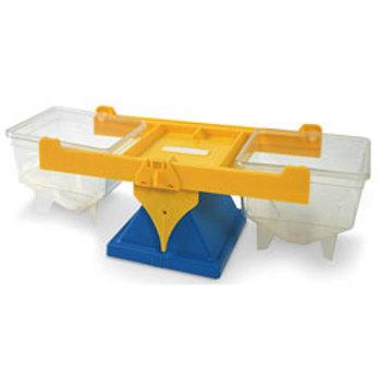 Clear Bucket Balance - 17-1/4 in. L x 6-1/2 in. W x 5-3/4 in. H