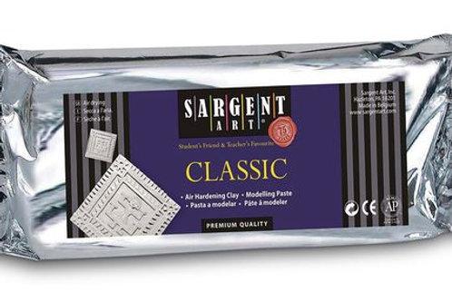 Sargent Art® Classic Air Hardening Clay - Bright White, 1-lb. Pkg.
