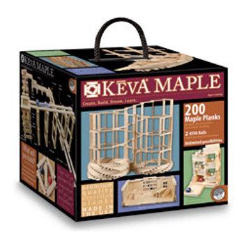 KEVA® Maple Wooden Plank Construction 200-Piece Set