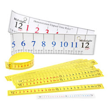Elapsed Time Ruler™ Classroom Pack