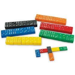 Color Dominoes - Bucket of 840