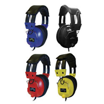AVID® AE-808 Deluxe Headset with Volume Control - Assorted Colors