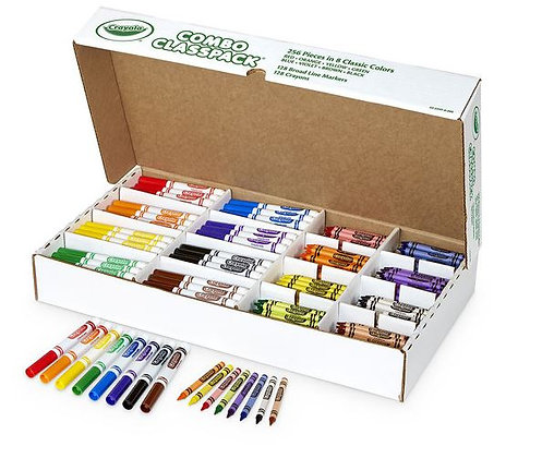 Crayola® Crayons and Markers Combo Classpack®