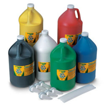 Crayola® Washable Paint - Set of 6 Gallons