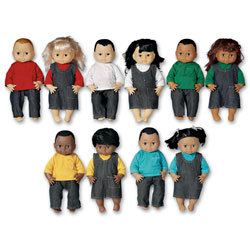 Ethnic 13 in. Doll Collection