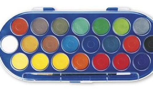 Nasco Budget Watercolors - 22-Color Set