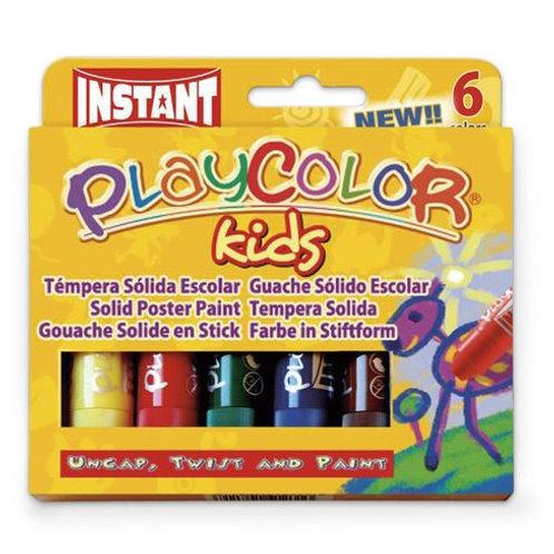 Jack Richeson® PlayColor® Tempera Sticks - Standard Size - Standard Colors - Pkg