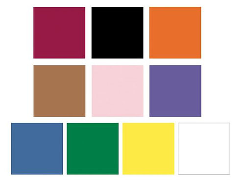 Nasco Country School™ Construction Paper - 50 Sheets - 9 in. x 12 in. - Assorted