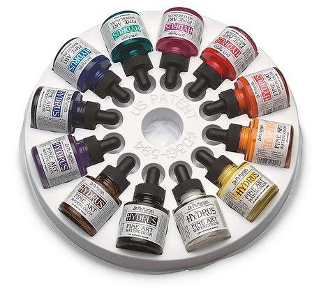 Dr. Ph. Martin's® Hydrus® Fine Art Watercolors - Set #1 - 12, 1-oz. Bottles
