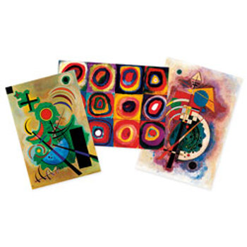 Wassily Kandinsky Art Prints - Set of 3