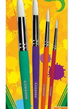 Crayola® Big Paintbrushes - Sets of 4 Rounds