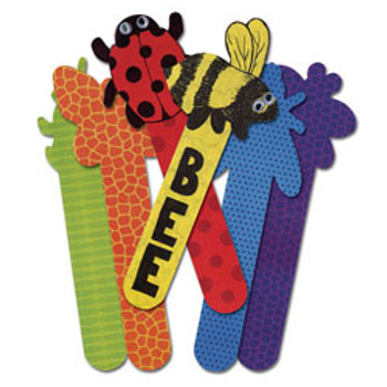 Roylco® Bug Craft Sticks - Set of 24