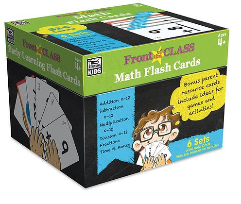 Front of the Class Flash Card Set - 3-1/4 in. x 5-1/4 in. - Set of 324