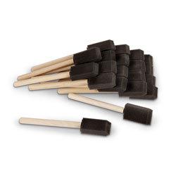 1 in. Foam Brushes - Pack of 20