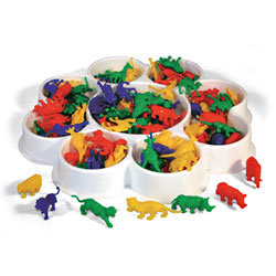 Counting and Sorting Wild Animals Kit