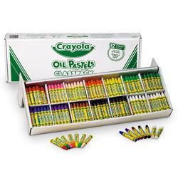 Crayola® Oil Pastels - 336-Stick Classpack®