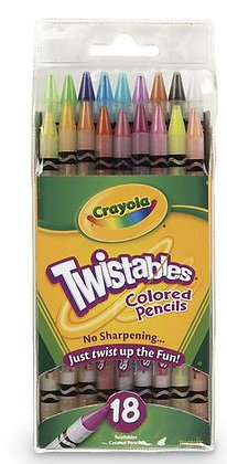 Crayola® Twistables® Colored Pencils - Set of 18