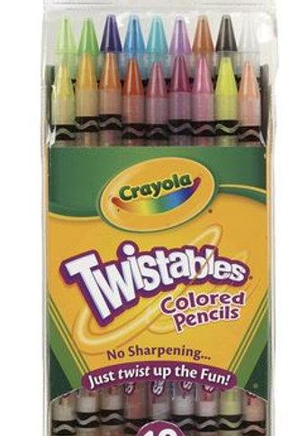 Crayola® Twistables® Colored Pencils - Set of 18