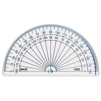 4 in. Solid Protractor