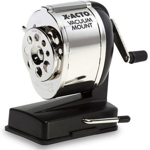 X-ACTO® Vacuum-Mount Pencil Sharpener