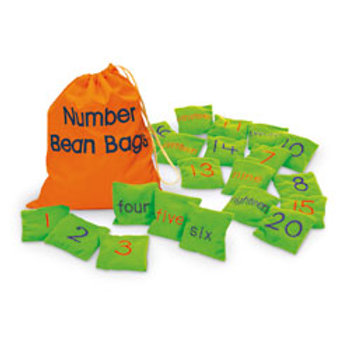 Numbers Bean Bags