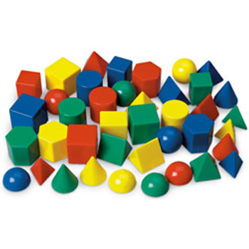 1 in. Geometric Solids