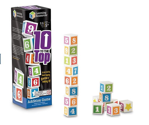 10 TO THE TOP - Addition Game