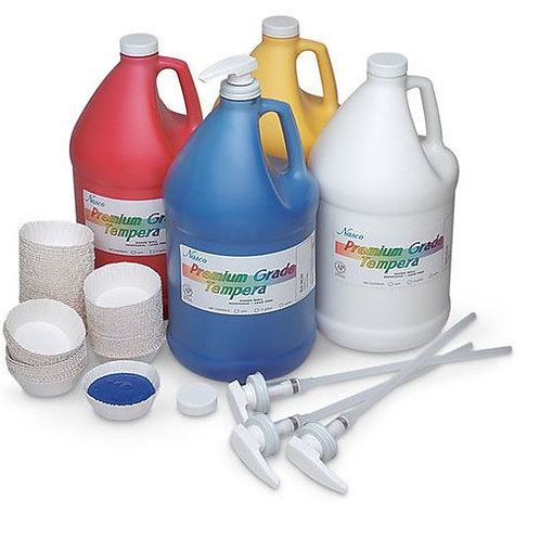 Nasco Premium Grade Tempera Pump Kit #1 - 4 Gallons