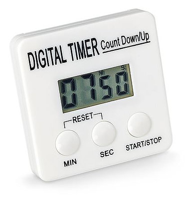 Digital Timer with Magnetic Clip