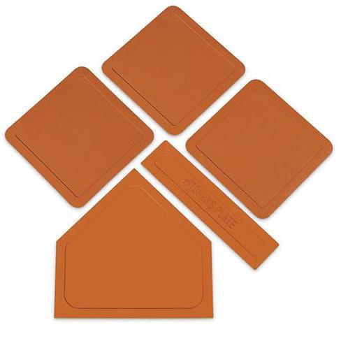 Indoor/Outdoor Throw Down Base Set - Orange