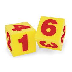 Giant Soft Cubes - Numerals