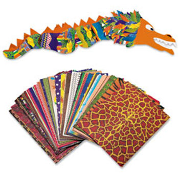 Roylco® Patterned Paper Classroom Pack - Pkg. of 248 - 8-1/2 in. x 11 in.