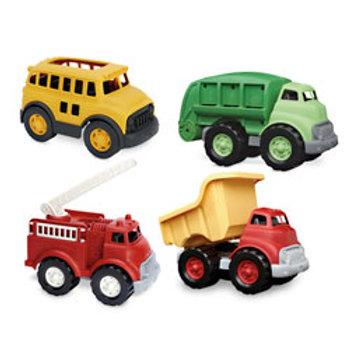 Green Toys® Land Vehicles Set - Set of 4