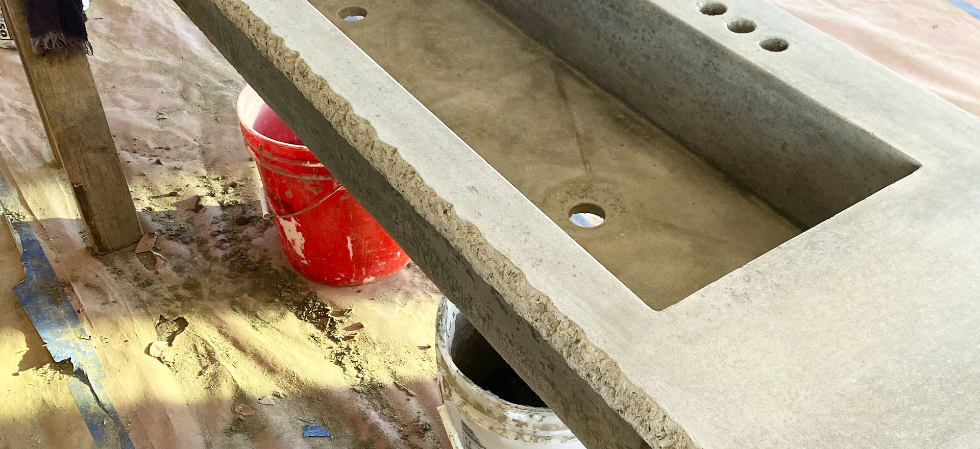 Concrete Sinks for Restrooms