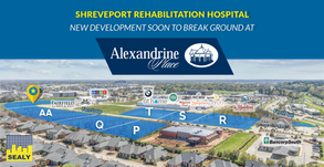 Shreveport Rehabilitation Hospital- New Development Soon to Break Ground at Alexandrine Place