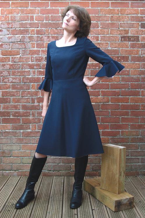 A-line 70s Dress