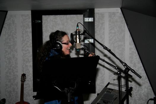 Miriam at Imperial Sound Studio