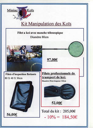 Kit Manipulation des Koïs